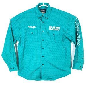 Wrangler ram rodeo shirt